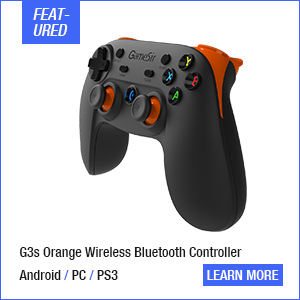 GameSir T1s + Remapper A2, Gamepad for PS3 Controller Bluetooth 2.4GHz Wired for SONY Playstation PC/VR/TV Box/PS3