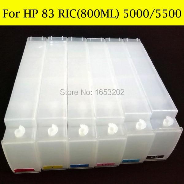 HP 83 RIC 800ML 5000 5500 3