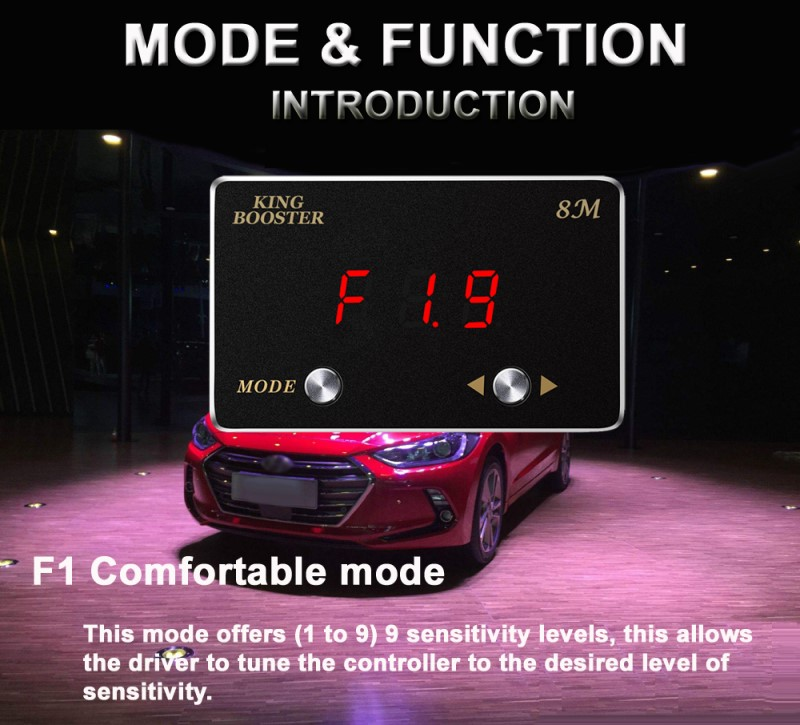 car electronic throttle controller F19