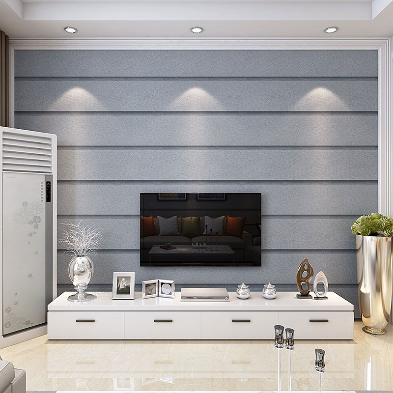 Modern simple stripe wallpaper bedroom 3D stereo non-woven wallpaper living room TV backdrop wall wallpaper modern simple romantic snow large mural wallpaper for living room bedroom wallpaper painting tv backdrop 3d wallpaper
