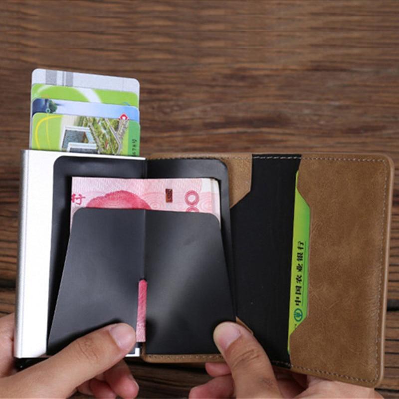 BISI GORO 2018 Women Men Credit Card Case Business Card Holder for ...