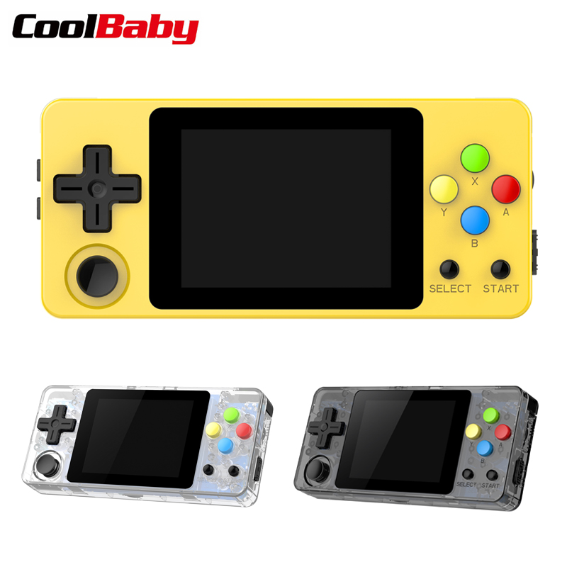 OPEN SOURCE CONSOLE LDK Game version Land Scape game 2.7inch Screen Mini Handheld Family Retro Games Console(China)