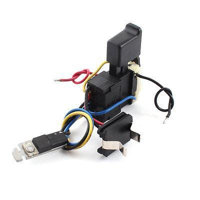 FA08A-12/1 Electric Drill Wired Trigger Switch 12A DC 7.2-24V for Hitachi DS7DF 5e4 ac 250v 4a speed control lock on trigger switch spst for electric drill