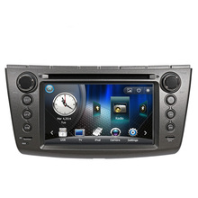 Free Shipping Wince 6.0 New Car DVD Player with GPS Navigation System For Lotus L3 with steering wheel control with RDS Ipod