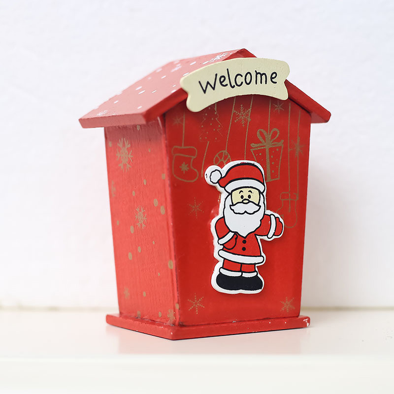 Image 3 - New Christmas Mini Candy Tin Box Jewelry Coins Storage Gifts Cartoon Piggy Bank Gift Box Storage Boxes Cans-in Storage Boxes & Bins from Home & Garden