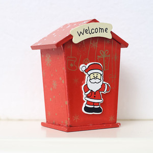 Image 3 - New Christmas Mini Candy Tin Box Jewelry Coins Storage Gifts Cartoon Piggy Bank Gift Box Storage Boxes Cans