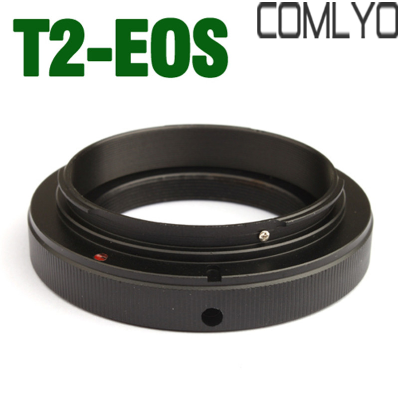 T EF T2 Lens Mount Adapter Ring for Canon EOS DSLRs