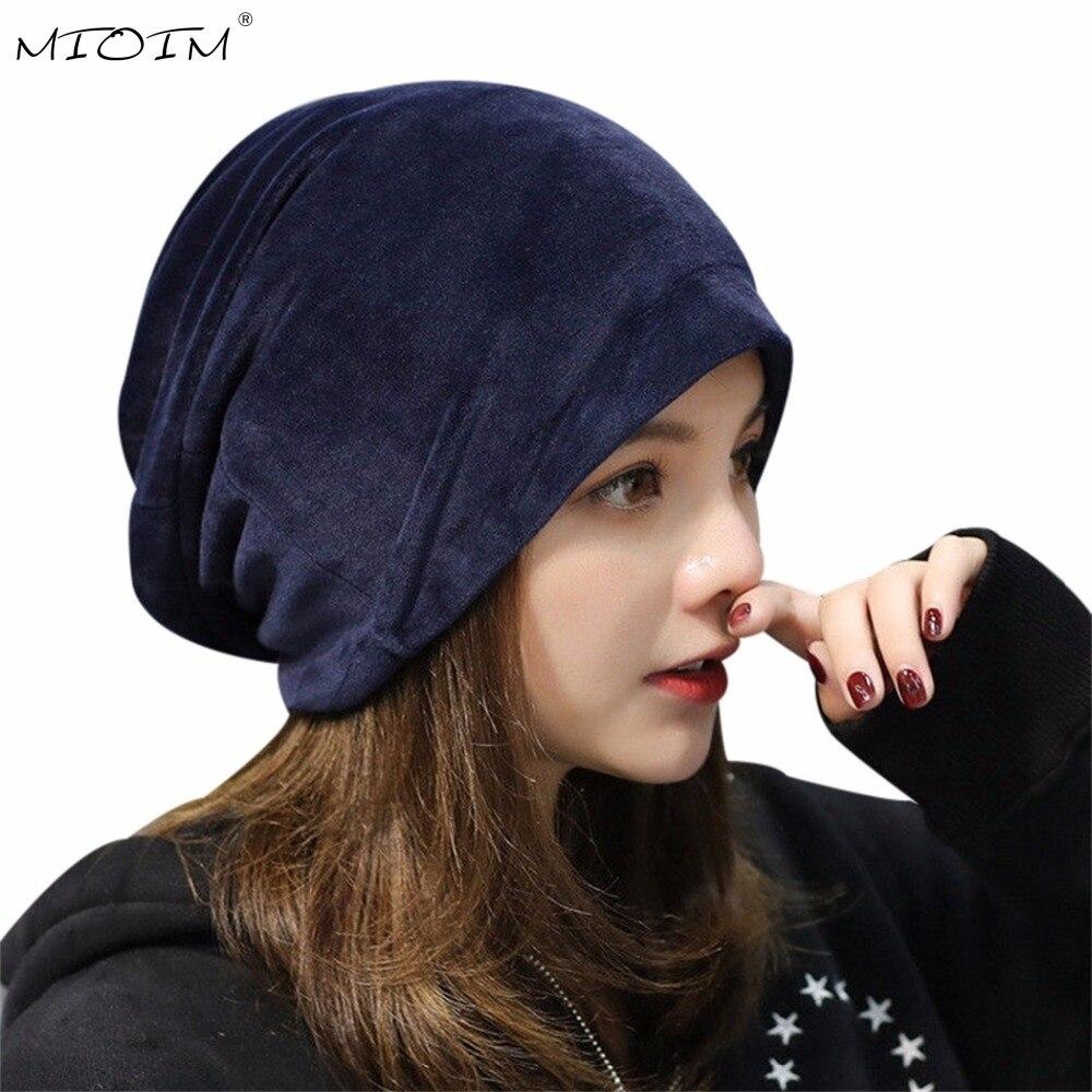 Mioim mujer Otoño Invierno Beanie hat mujeres ruso caliente tapas de gato  gorros orejeras sombrero señoras skullies touca cap 2 c9a29ea04f5c