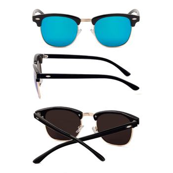 Half Metal Sunglasses UV400 Classic