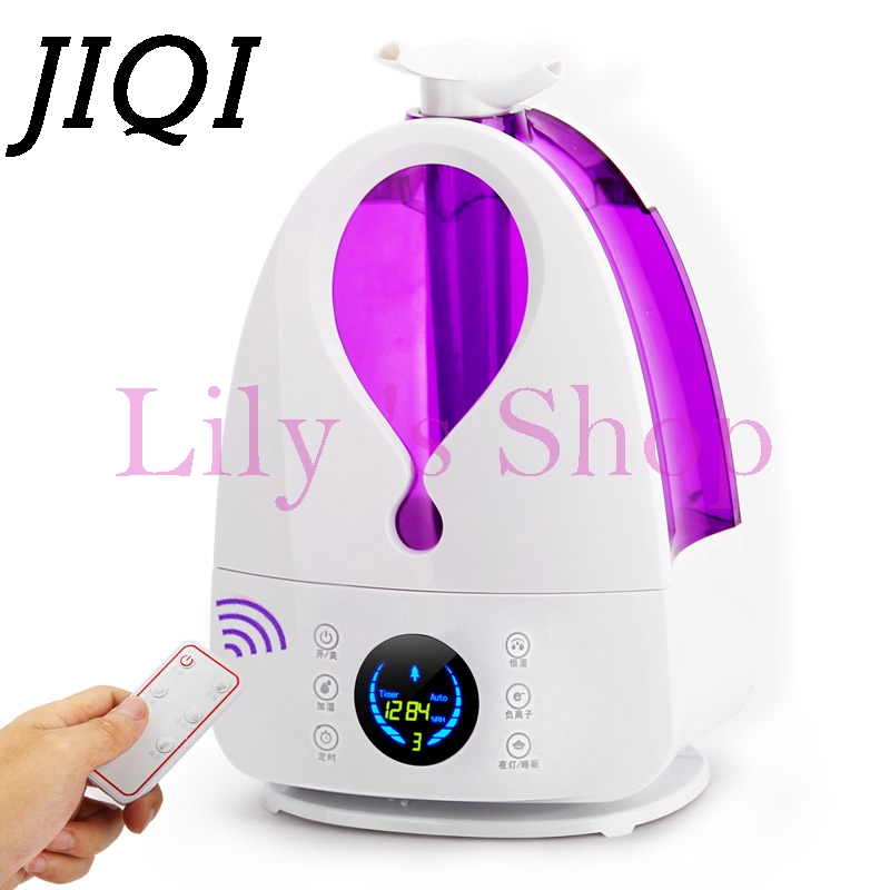 все цены на  MINI Air Ultrasonic humidifier mute bedrooms low noise diffuser Aromatherapy Mist Maker Fogger Aroma Sprayer home office 4L EU  онлайн