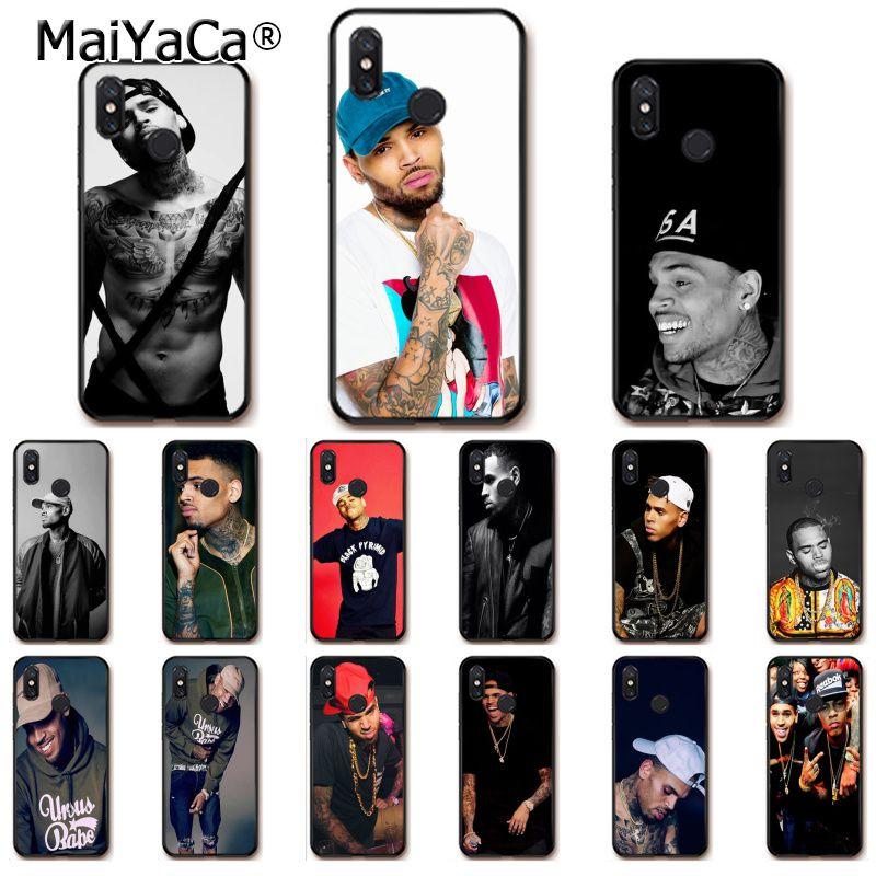MaiYaCa Chris Brown Breezy Black Soft Shell Phone Case for Xiaomi Mi 6 Mix2 Mix2S Note3 8 8SE Redmi 5 5Plus Note4 4X Note5