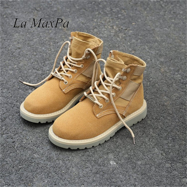 Kadın Taktik askeri postal Lace up Ordu Açık Yürüyüş Yüksek Üst Seyahat yürüyüş ayakkabıları Su Geçirmez Günlük Çalışma Önyükleme