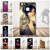 Soft TPU Case For Coque Huawei P9 lite Case Silicon Cartoon Skull Cool Pattern Back Cover For Funda Huawei P9 lite Case Capa
