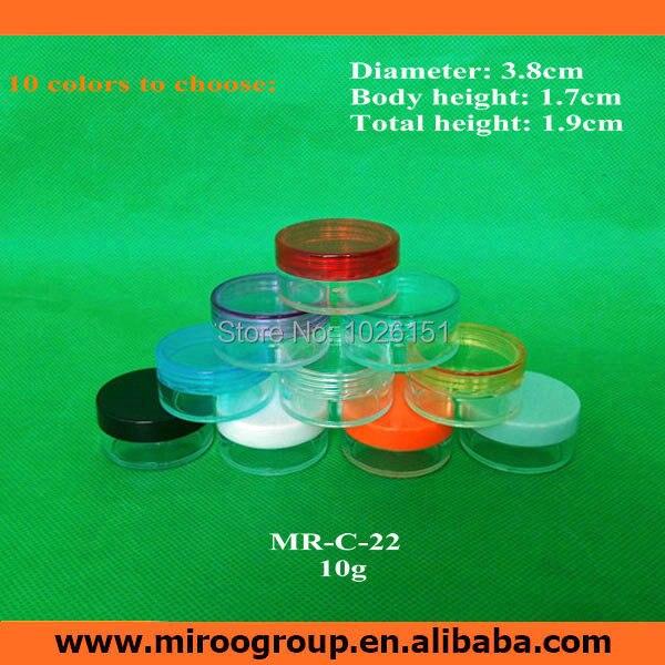 free shipping 100pcs hotsale cheap 10g plastic cosmetic sample container plastic cream jar. Black Bedroom Furniture Sets. Home Design Ideas