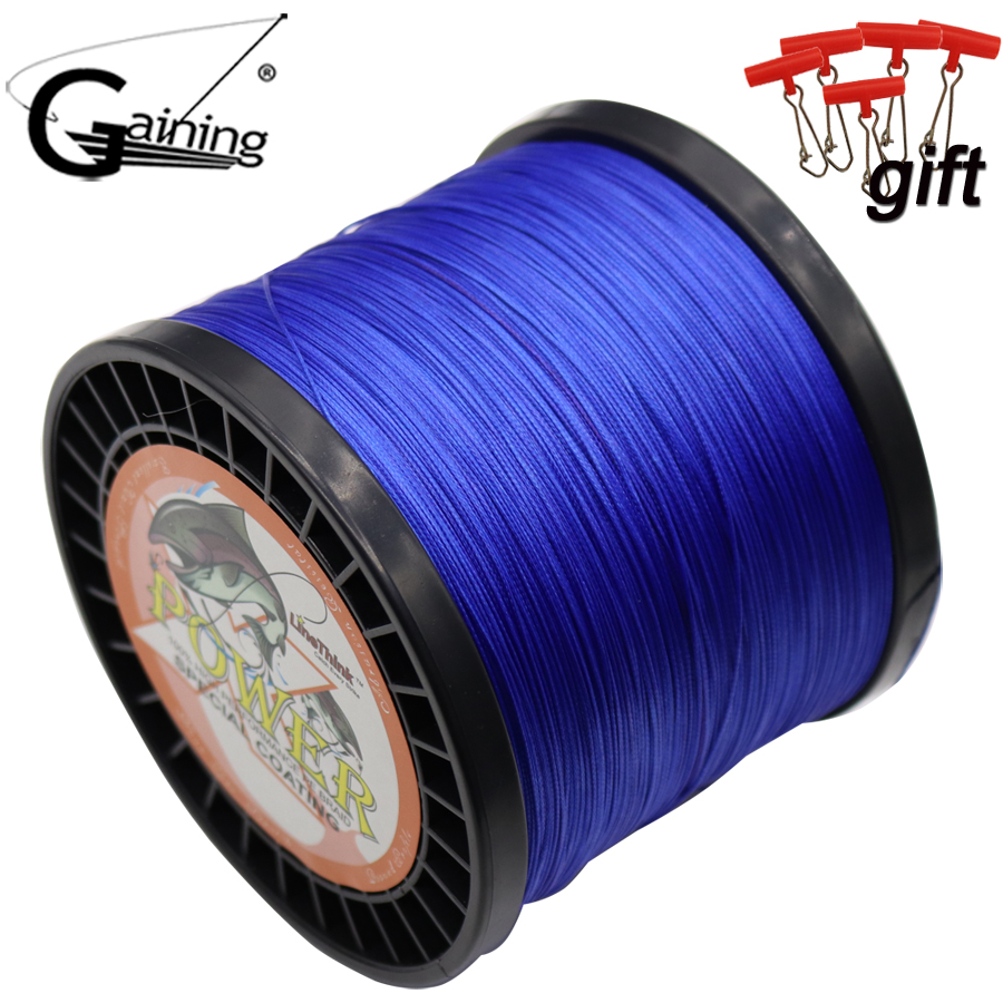 Braided Fishing Line 16 Strands 1000m Multicolor Super Power Japan Multifilament PE Braid Line 59LB 77LB 94LB 110LB 127LB 136LB стоимость