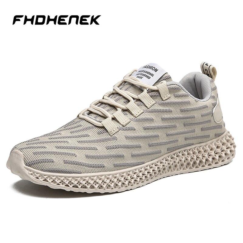 Mode en plein air hommes baskets haute qualité automne marque décontracté respirant chaussures maille doux Jogging Tennis hommes chaussures toute la saison