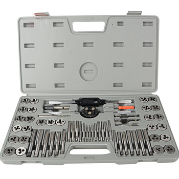 S-60 Alloy Steel Metric System Tap And Die Set Hand Tap Wrench Combination