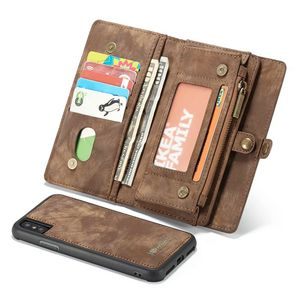 Image 3 - Purse Wristlet Phone case For Iphone 12 11Pro Max x Xr Xs Max 6 s 7 8 Plus Se 2020 Apple Coque Luxury Leather Funda Wallet Cover