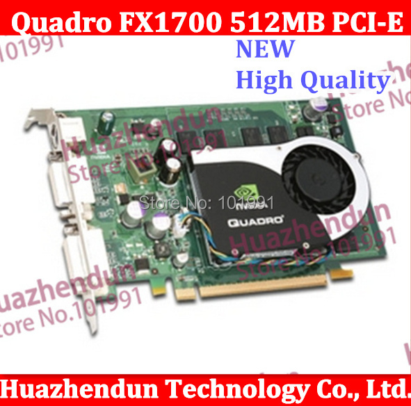 Free shipping via DHL OR EMS New Special offer Original  Quadro FX1700 512MB PCI-E  Video Card from factory video card free shipping 2015 yr new tea premium jasmine pearl tea jasmine longzhu flower tea green tea 250g bag vacuum packaging