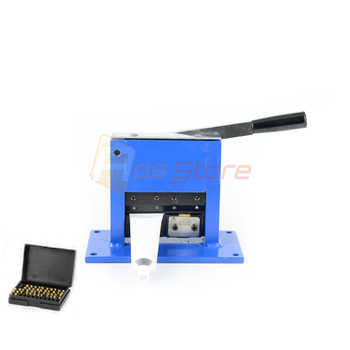 Aluminum Tube Sealer Aluminum Laminate Tube Sealing Machine Manual Crimping Sealer with Expiration Date And Letters
