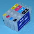 T1281-T1284 For Epson Stylus S22 SX125 SX420W SX425W Refillable ink cartridges with arc chips