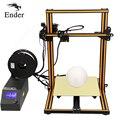 2018 de alta calidad CR-10s 3D KIT de impresora de impresión de gran tamaño 300*300*400mm completa de aluminio Creality 3D impresora 3D filamento como un regalo
