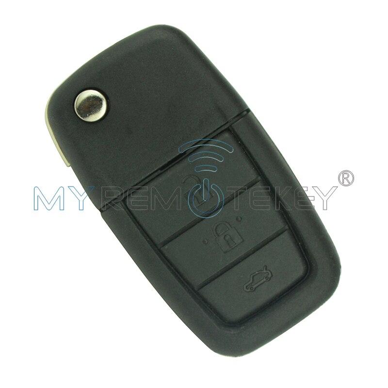 Дистанционного флип ключ 3 кнопки с рогом ID46 434 мГц GM45 профиль для Холден VE Commodore седан keyless смарт-Ключи remtekey