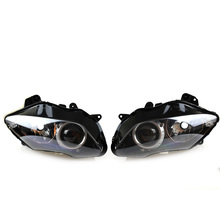 Motorcycle Front Headlight Head Light Lamp Headlamp Assembly For YAMAHA YZF R1 2007-2008 все цены