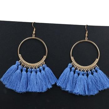 Handmade Tassel Earrings 4