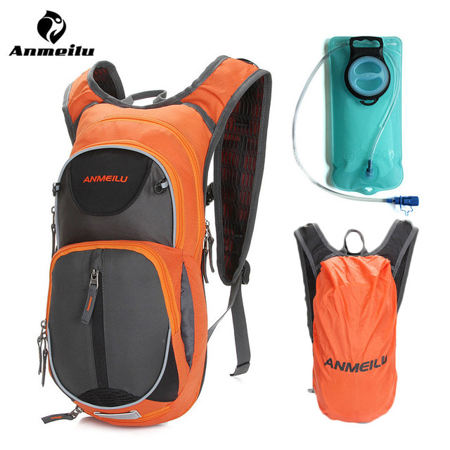 1145103b76cb Anmeilu 15L Bicycle Bag Waterproof Rain Cover MTB Mountain Road Bike Bags  Outdoor Sports Backpack Hydration Pack 2L Water Bags