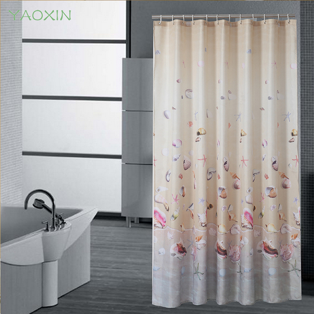 European Shower Curtain Flower Bath Screens Polyester Waterproof YouTube Recommend Curtains In The Bathroom