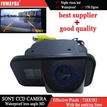 FUWAYDA SONY CCD Chip Sensore Dell'automobile di Inverso di Retrovisione Che Inverte Parcheggio di Sicurezza DVD GPS per il periodo 2006 2009 Toyota Avensis-in Fotocamera per auto da Automobili e motocicli su FUWAYDA Official Store
