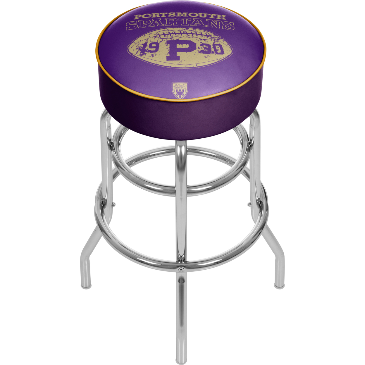 VAF Portsmouth Spartans Padded Swivel Bar Stool 30 Inches High father john misty portsmouth