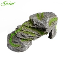 Gray Aquarium Artificial Stone For Decoration Fish Tank Decorative Accessories Supplies