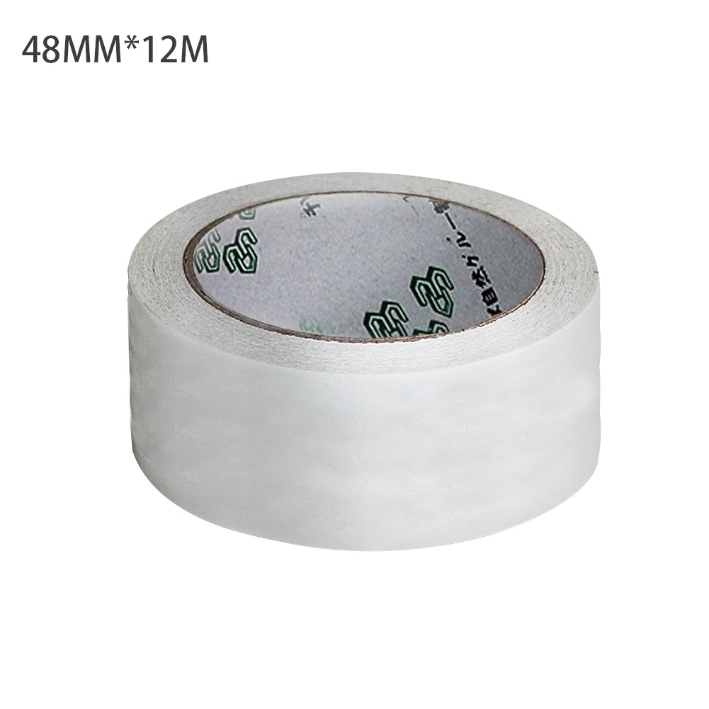 5/12/24/48mm Stationery Sticky Tape Double Sided Adhesive Tape Craft Clear Sticky Foam DIY Paper Masking Tape Strong Adhesive