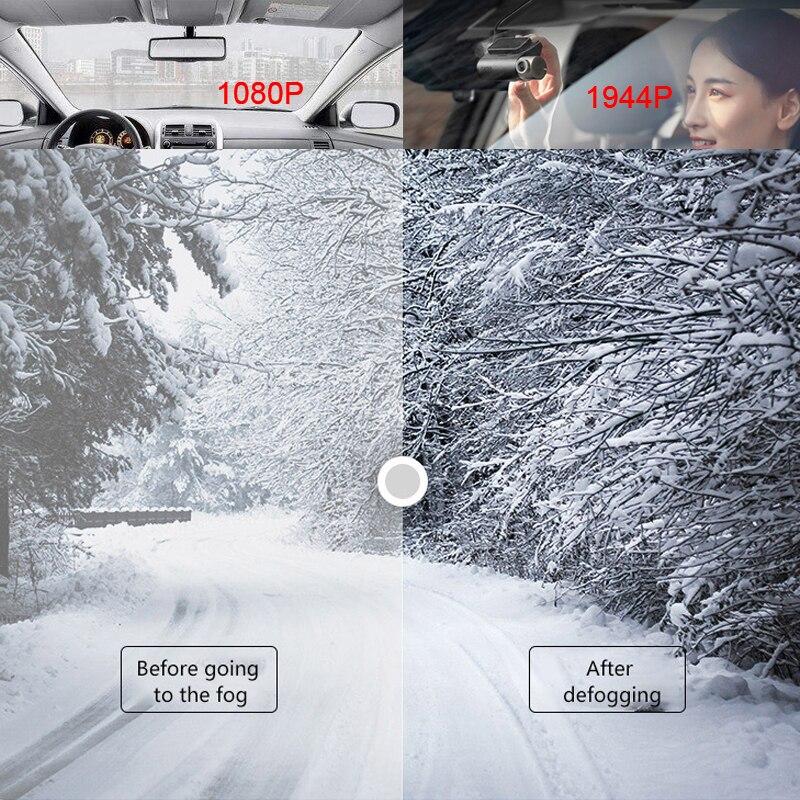 Xiaomi 70mai Pro 1944 P HD Cámara del DVR del coche de 140 grados de visión Defog ADAS noche visión 24 H Monitor de aparcamiento wifi, Control de voz Dash Cam - 5