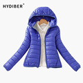 2016 super warm winter parka jacket coat 8 colors women jacket fashion Slim Short padded women tops