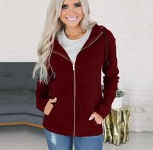 2018 Autumn Winter Plus Size Hoodies Sweatshirts Women Ladies Hooded Sweatshirt Long Sleeve Female