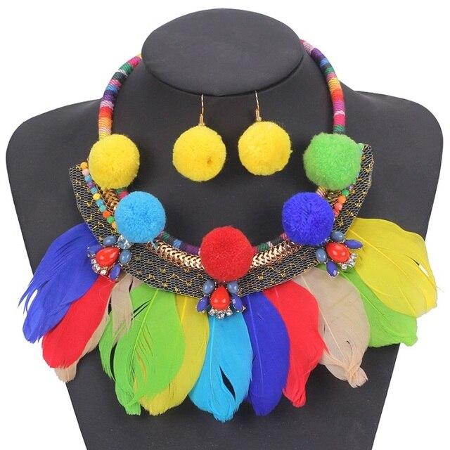 Bohemian Tassel Jewelry Set...