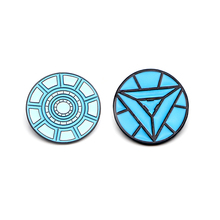 V283 Iron Man Nuclear Reactor Metal Enamel Pins and Brooches Fashion Lapel Pin Backpack Bags Badge Collection weston stacey m nuclear reactor physics