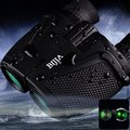 BIJIA Porro BK4 Prism Waterproof 12 x 25 HD Night Vision Binoculars 83m/1000m Ultra clear Telescopes for outdoor night hunting