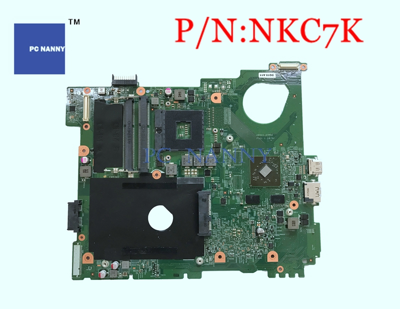 PCNANNY Mainboard NKC7K 0NKC7K for Dell Inspiron N5110 with 4 Video Memory Laptop motherboard