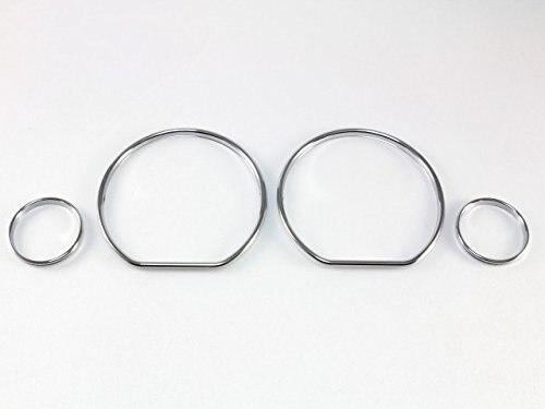 Chrome Painel de Instrumentos Velocímetro Gauge Dial Anel Anel de ajuste para VW Golf 3 1991-1998/VW Vento 1991-1998/Polo MK4/6N1 94-98