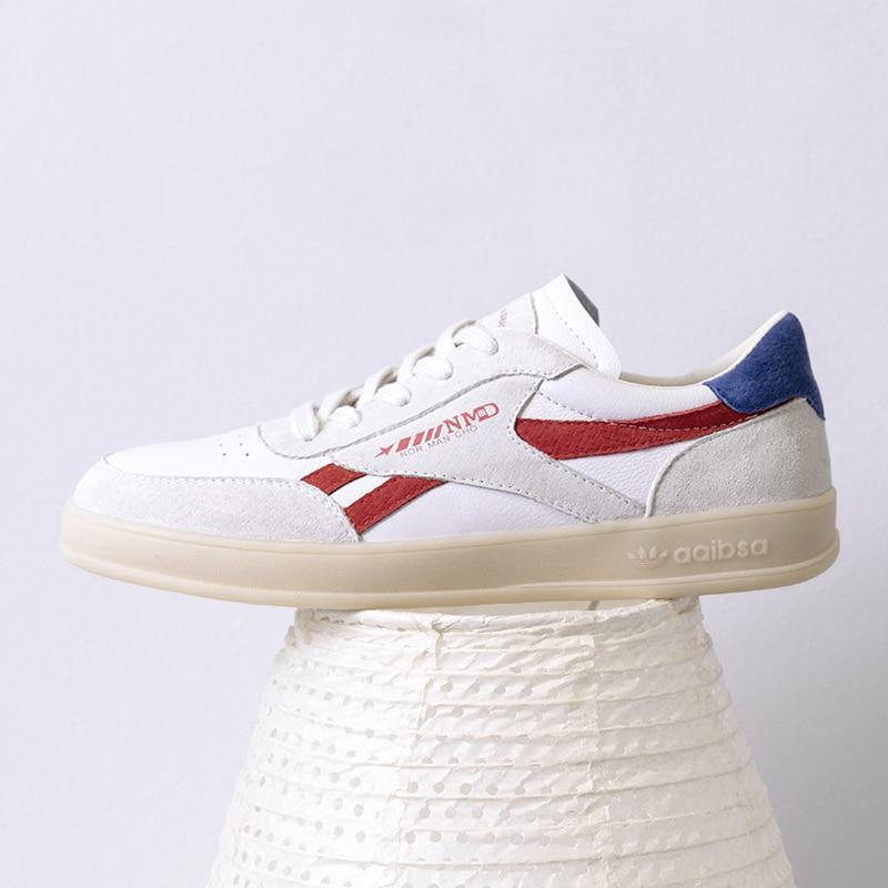 De Cm Casuales Zapatos 2 Cuero Mujeres Beige blanco Las 2019 Deporte Mujer Zapatillas Blanco TBRq4d