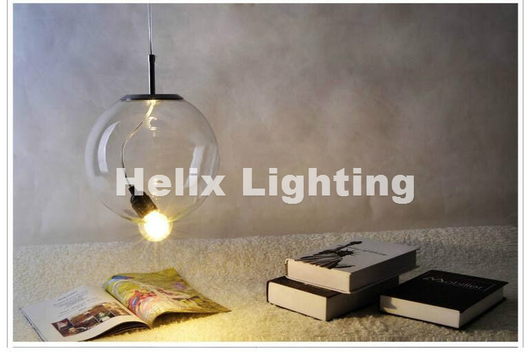 Nordic Glass American Style Retro Pendant Lamp With E27 Edison Bulb Loft Vintage Pendant Light,Antique Pendant Lamp D250mm edison bulb loft classical vintage pendant light lamp with with glass shade e27 e26 base free shipping