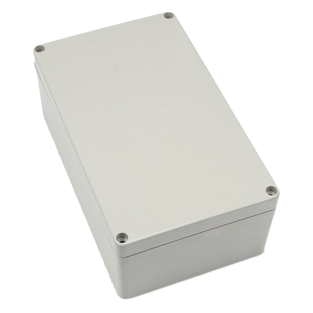 Gray-white Waterproof Plastic Project Box Enclosure 200*120*75MM ABS IP66 Waterproof Plastic Project Storage Box waterproof box abs switch box plastic box electronics 200 200 95mm ip66 ds ag 2020 s