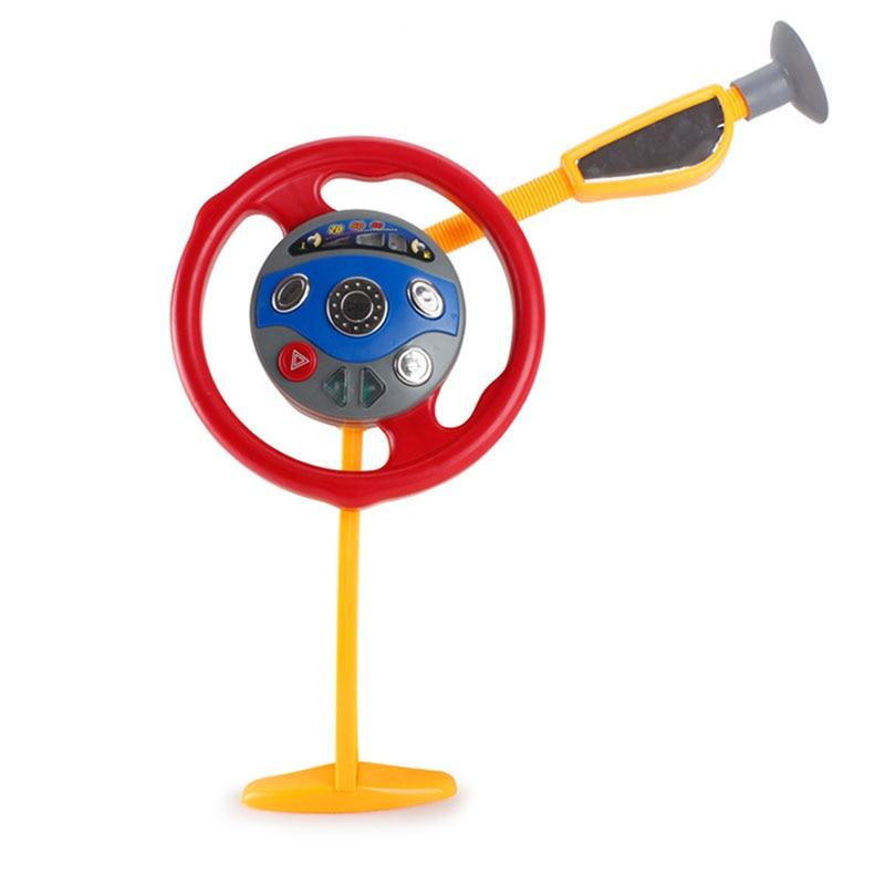 Plastic Kids Toy Children Electronic Backseat Driver Car