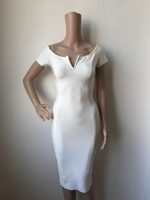 2017 fashion sexy celebrity bandage dress bodycon cocktail