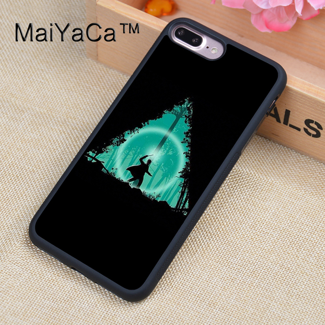 new styles ea391 ae4c3 US $4.29 5% OFF|MaiYaCa Harry Potter Always Rubber Phone Case For iPhone 7  Plus Soft TPU Back Cover Coque For iPhone 7Plus Case-in Fitted Cases from  ...
