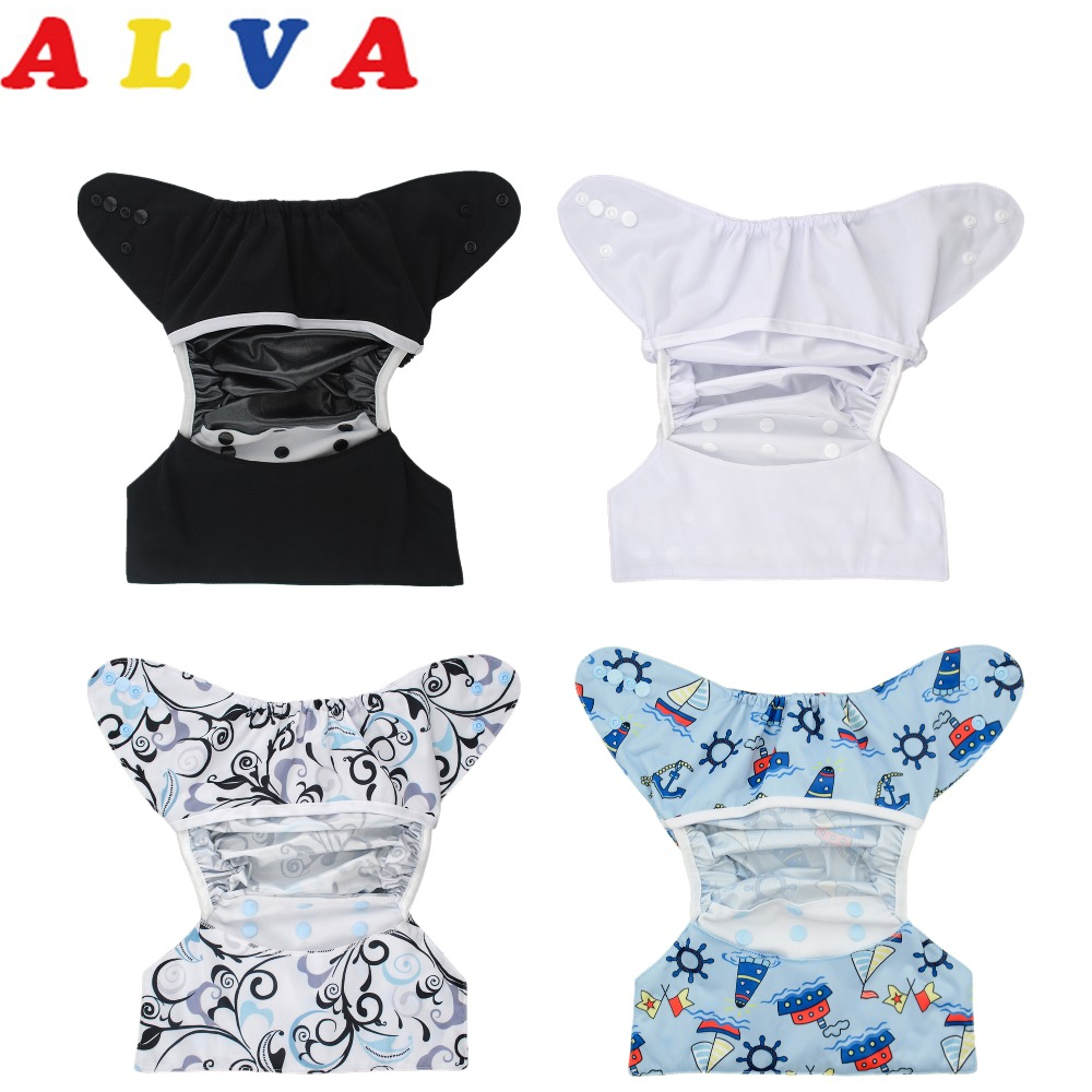 U Pick Alva Baby 1pc Reusable and Washable Diaper Cover 2019 Free Shipping title=